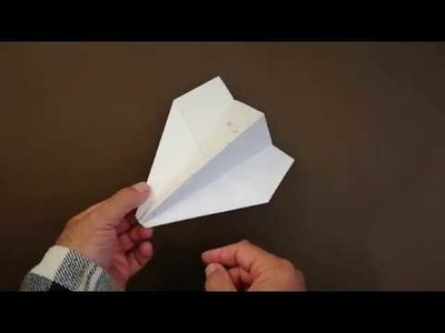 How To Make a Paper Flying Plane │Home Glider For Kids.