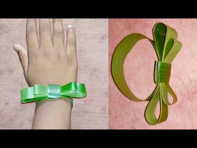 How to Make coconut leaf watch for kids step by step |Cool Palm Leaf Craft