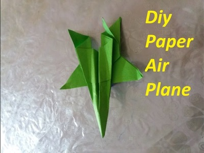 Tutorial, Best Paper Airplane Glider - How to Fold Paper