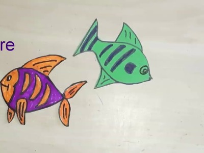 How to make Fish Aquarium Model for School project and Exhibition.Kansal creation.SST.KIDS PROJECT