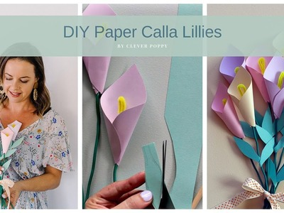 How to make Paper Calla Lillies