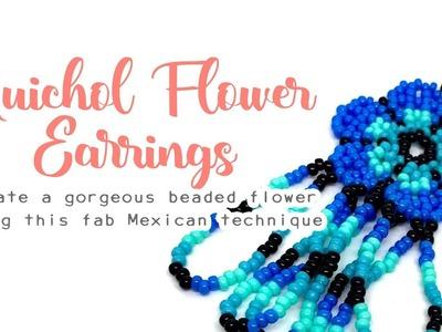 Huichol Flower ???? Beading Tutorial