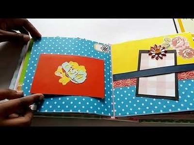Mini album. Mini scrapbook