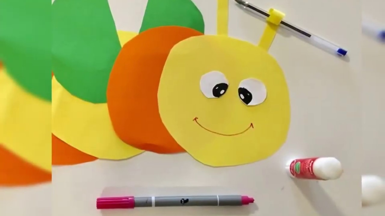 Paper craft for kids ❤️ paper crafts ❤️ 1 minute craft ❤️ BEE