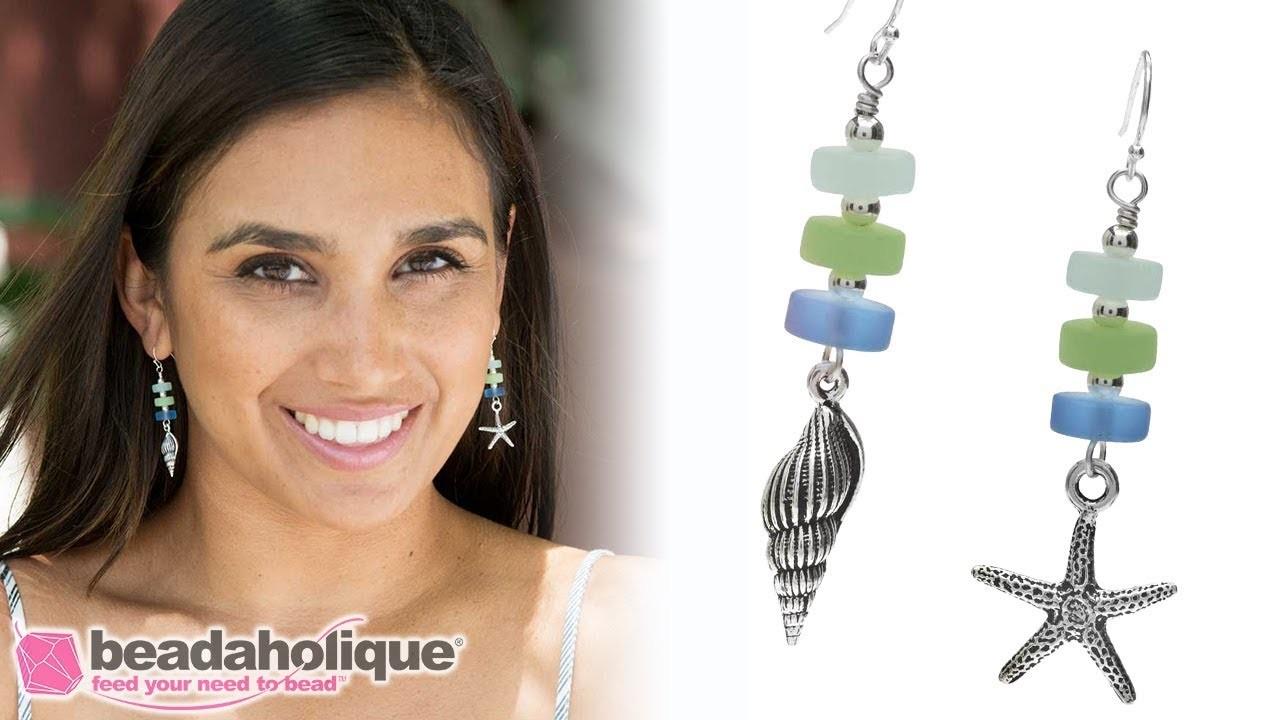 Quick & Easy DIY: Jewelry  Marine Layer Earrings