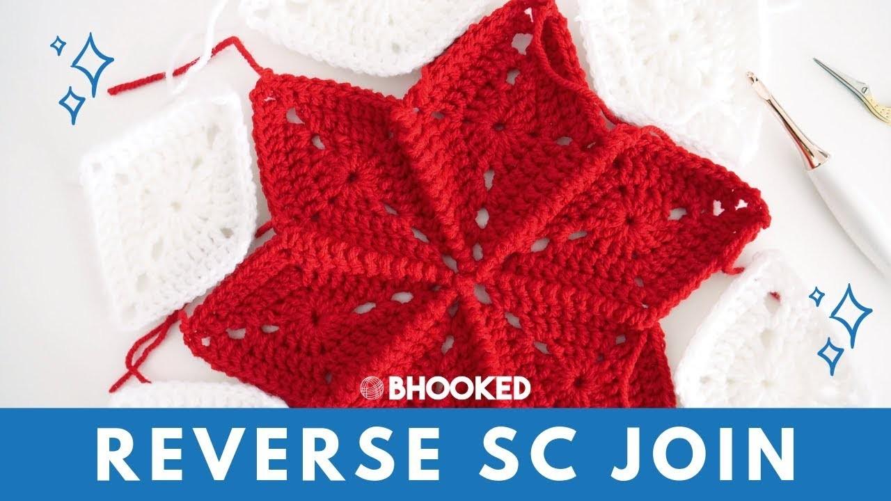 Reverse Single Crochet Joining Method