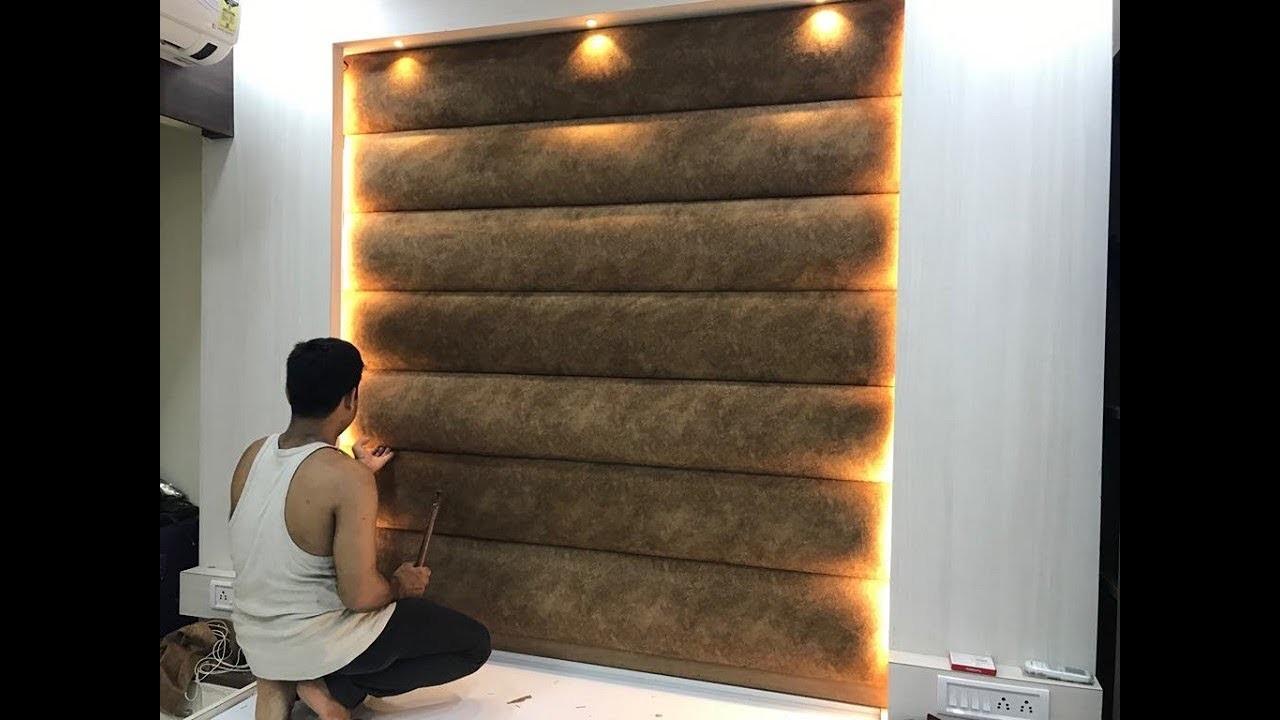 बेड का हेड बोर्ड पैडिंग कैसे बनाते है ?How to Make Bed Full Height Headboard padding