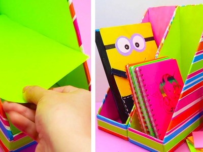 10 DIY SCHOOL SUPPLIES || COOL AND EASY CRAFT IDEAS FOR SCHOOL