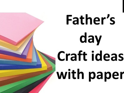 3 Handmade greeting card ideas | craft ideas for kids with paper easy | Father's day craft ideas