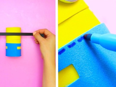 6 DIY MINION AND EMOJI CRAFT IDEAS || AMAZING AND EASY MINION AND EMOJI CRAFTS AND DIYS