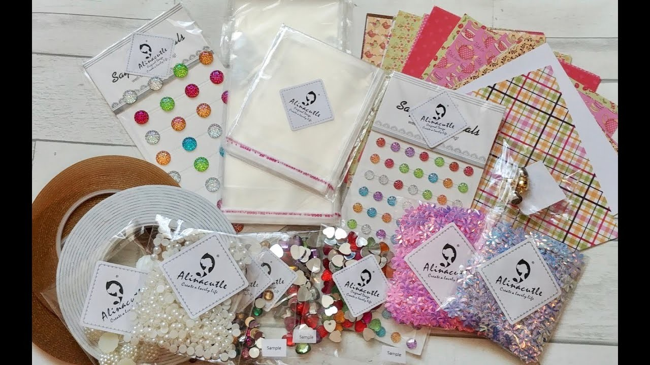 ????Alina Cutle.Craft DT HAUL May (Part 1) ????NEW Items and a project share????