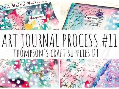 ART JOURNAL PROCESS | 11 | Thompson's Craft Supplies DT | ms.paperlover