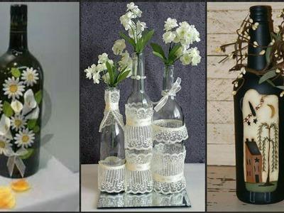 Beautiful Bottle Craft Decoration Ideas.
