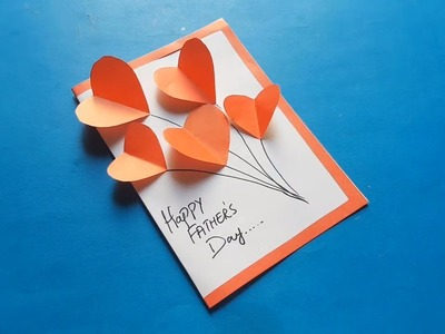 Best Happy Father's Day Card | Easy DIY Arts and Paper Craft for Kids