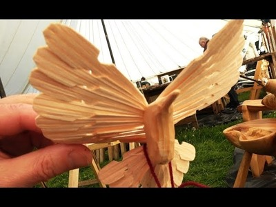 Best In UK Greenwood Treen.  Bodgers Craft Exhibition