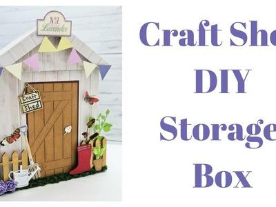 Craft Shed DIY Storage Box | She Shed Gift Box