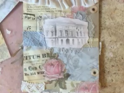 Craft with Me - Pretty Envelope Pocket Page for Ring Bound Journal