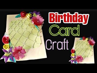 DIY Birthday Card Craft. Amazing Paper Work