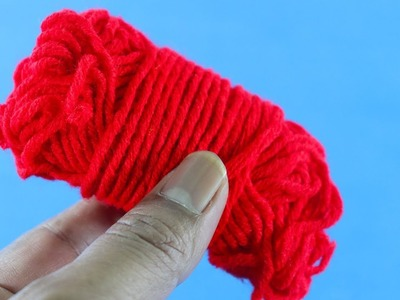 Diy Craft Out Of Woolen Threads ! Woolen Craft Ideas ! Best Out Of Wool !