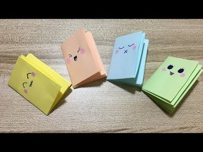 DIY Cute Small Notebook Craft For Kids