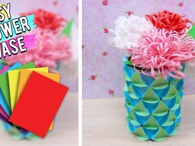 DIY Easy Flower Vase Craft Idea - Best Out Of Waste.