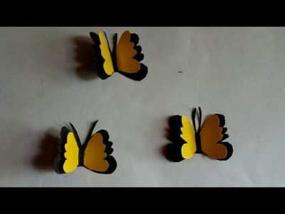 DIY My paper craft Amazing two layers Butterfly