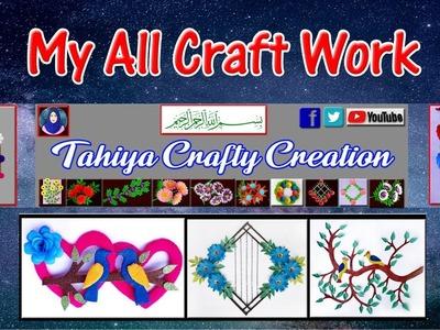 Diy Paper Crafts   My All Craft Work   Tahiya Crafty Creation