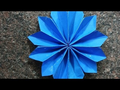 Diy paper flower | summer camp activity at home | easy and simple craft ideas for kids | Bubbiil