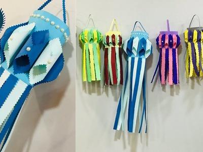 DIY Paper Wall Hanging || Paper Craft || DIY ROOM DECOR || Handmade Wall Hanging