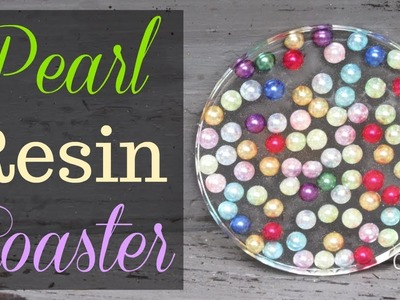 DIY Pearl Resin Coaster | Another Coaster Friday | Craft Klatch