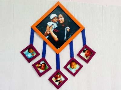 DIY Photo Frame| Best Out Of Waste Craft| How To Make Photo Frame At Home| DIY Cardboard Craft