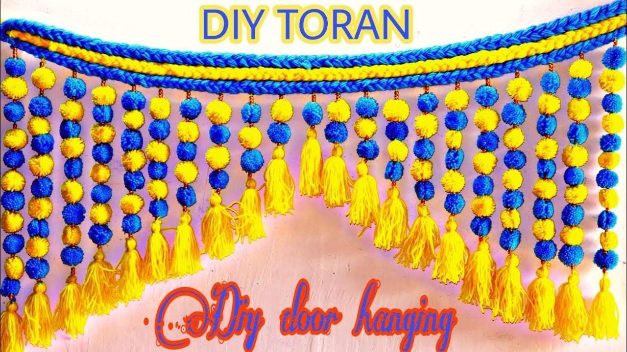 Diy Woolen toran || Best Woolen craft idea || Art With S.S.