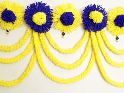 DIY Woolen Toran || Best Woolen Craft Idea || Toran