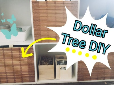 Dollar Tree DIY || Craft Room Organization || DIY Storage