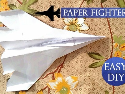 Fighter Jet DIY Paper Craft