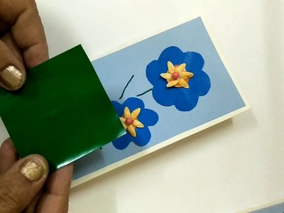 Greeting card making ideas - For Kids - Paper Art for Kids - Simple Craft for Kids