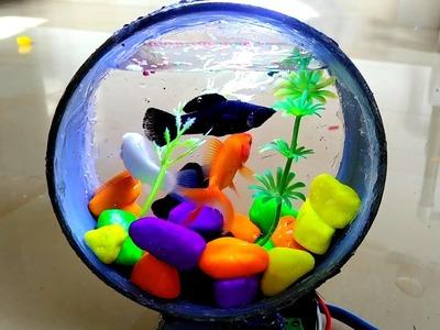 How to Make a Mini Aquarium Using PVC Pipe | Craft Village