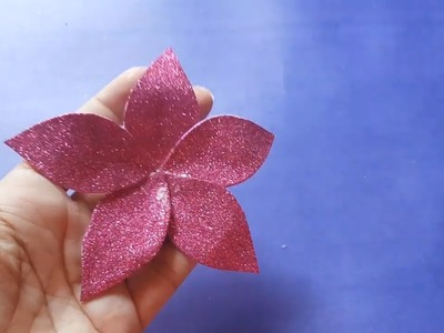 How to Make Paper Flower Easily | Easy DIY Arts and Paper Craft for Kids