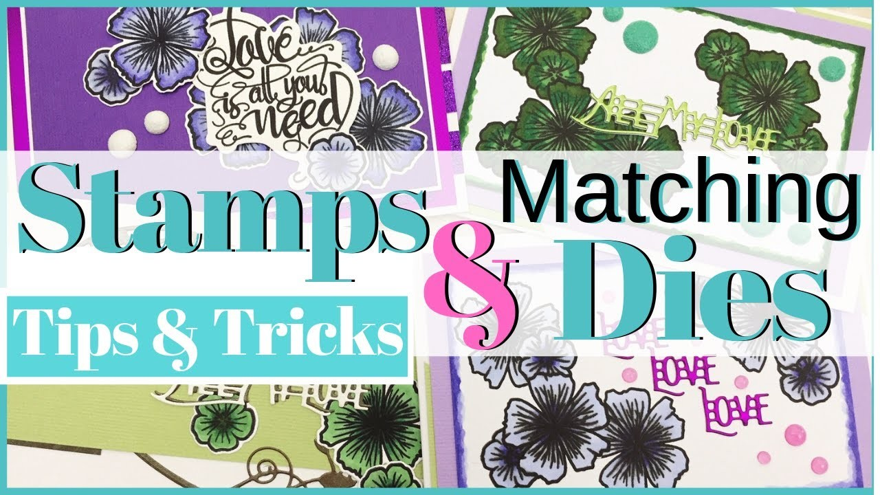 How to Stamps & Matching Dies + 4 more Cards Tonic Studios Craft Kit 22