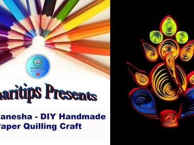 Lord Ganesha - DIY Handmade Paper Quilling Craft | Quilling Paper Craft