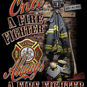 Unique Hand Made pdf Sewing Cross Stitch Patterns Dmc Crafts Once A Fire-Fighter Cross Stitch Pattern***LOOK***