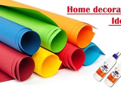 Paper Craft || Craft ideas for home decor || Home decorating ideas