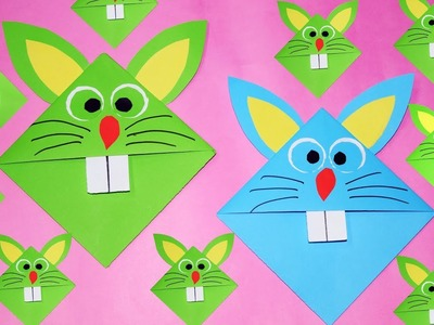 Paper craft for kids-bunny paper craft