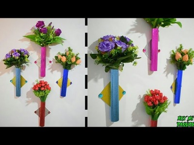 Paper Flower Wall Hanging | Paper Wall Craft | Wall Hanging Ideas | DIY Room Decor | Art My Passion