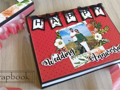 Scrapbook || Wedding Anniversary || The Craft Gallery India