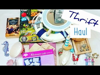Thrift Store Haul. Charity Shop Haul | Summer Craft Supplies Haul