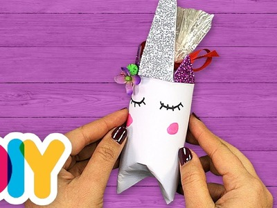 UNICORN???? PARTY FAVORS Paper Roll Craft | Fast-n-Easy | DIY Arts & Crafts for Kids