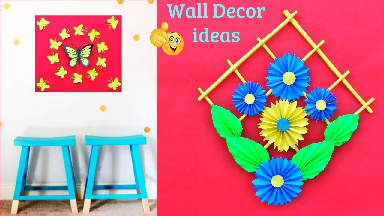 3 DIY Room Decor Ideas | Best out of waste | Easy paper craft