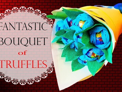 Amazing Bouquet with Truffle Candies | Букет из Конфет Своими Руками