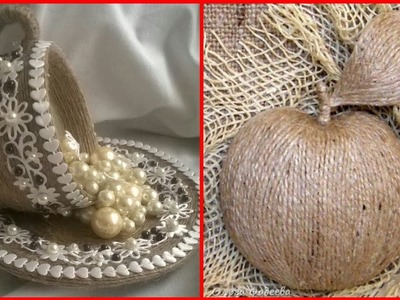 Beautiful latest jute craft ideas